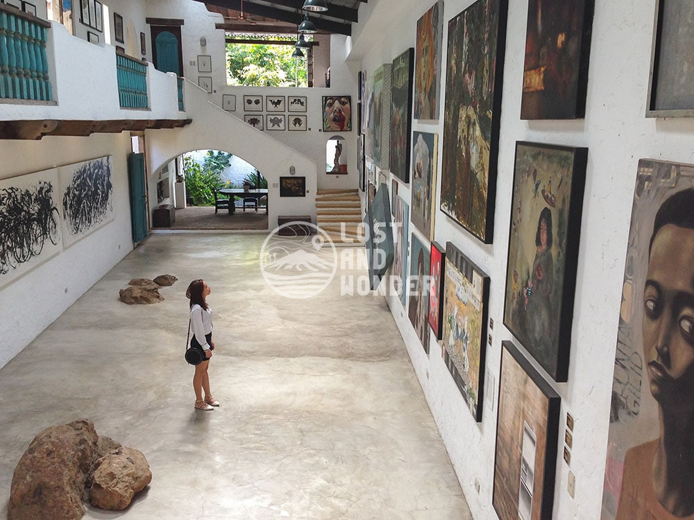Photo gallery in Pinto Art Museum in Antipolo