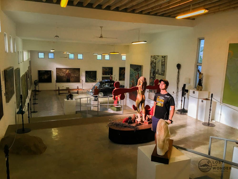 Photo inside Pinto Art Museum