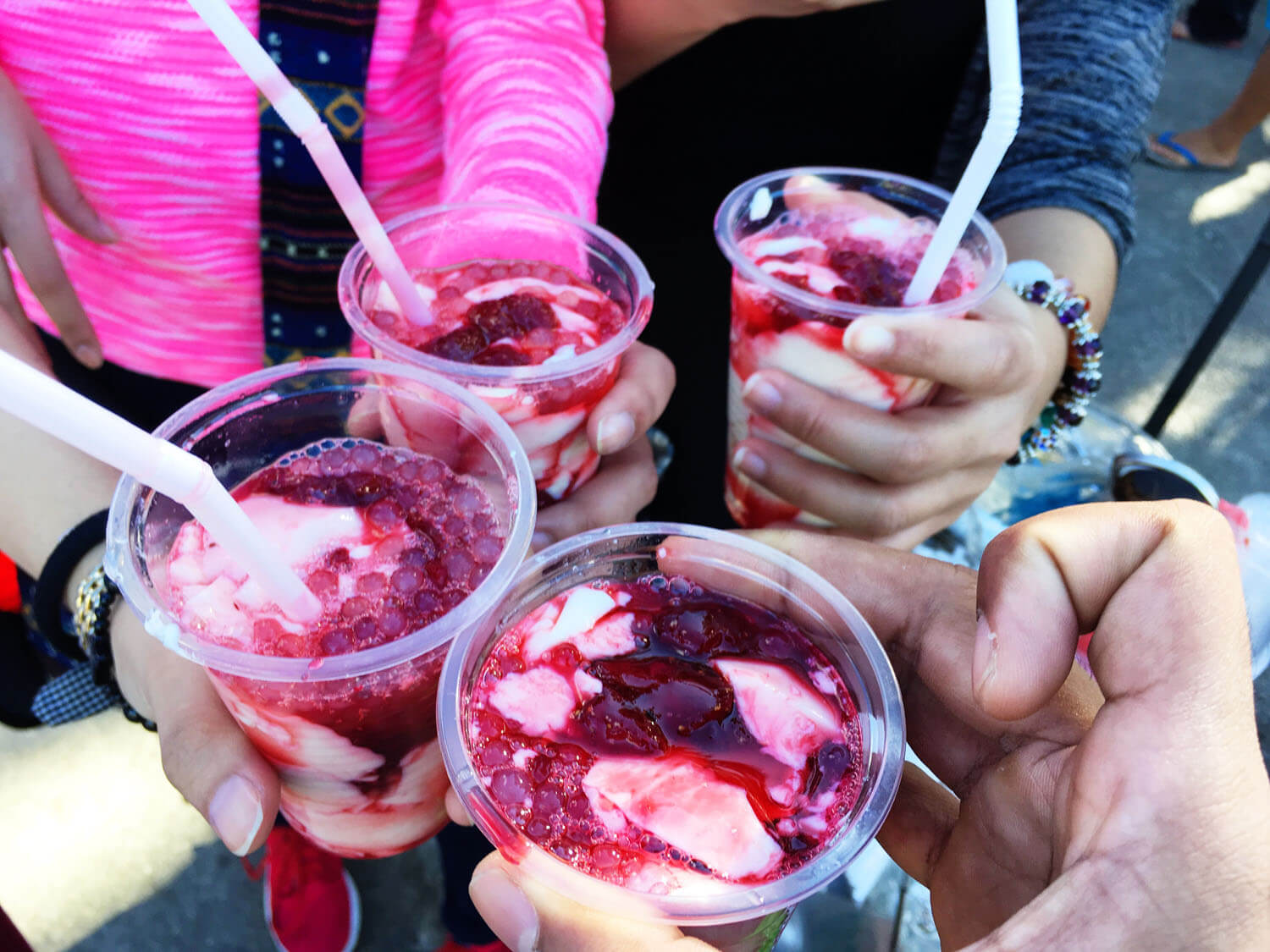 Photo of Strawberry Taho in Strawberry Farm Baguio