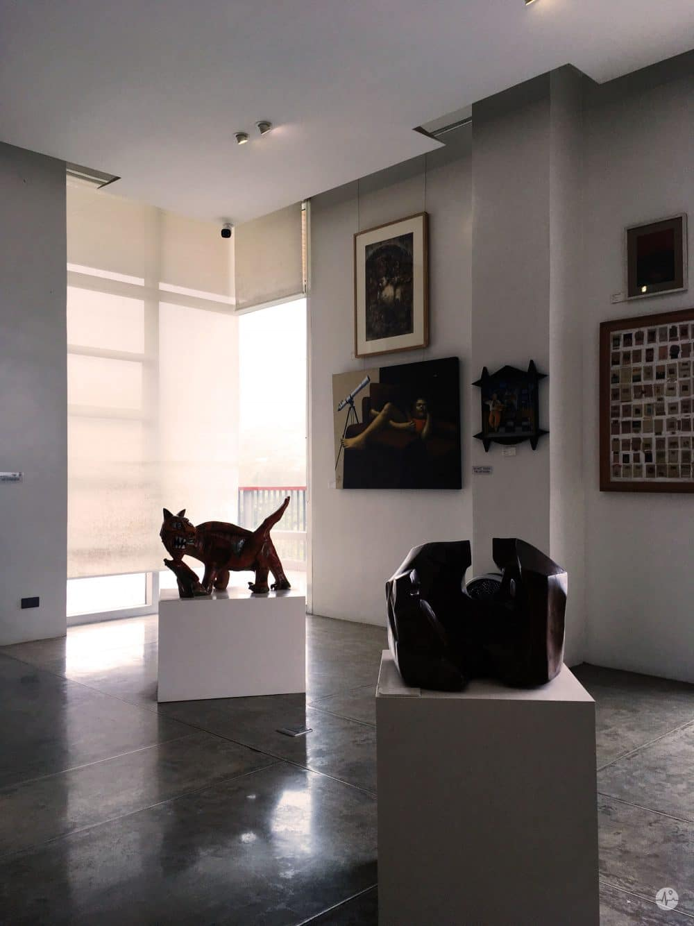 Photo of Statues and sculptures displayed in BenCab Museum