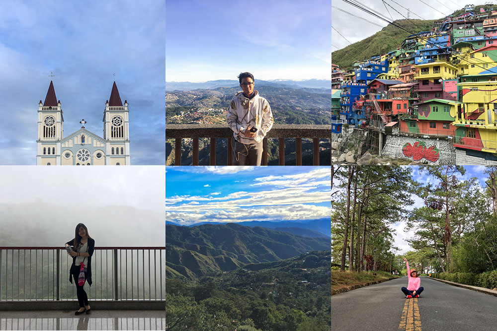 Photo of Different Places in Baguio City