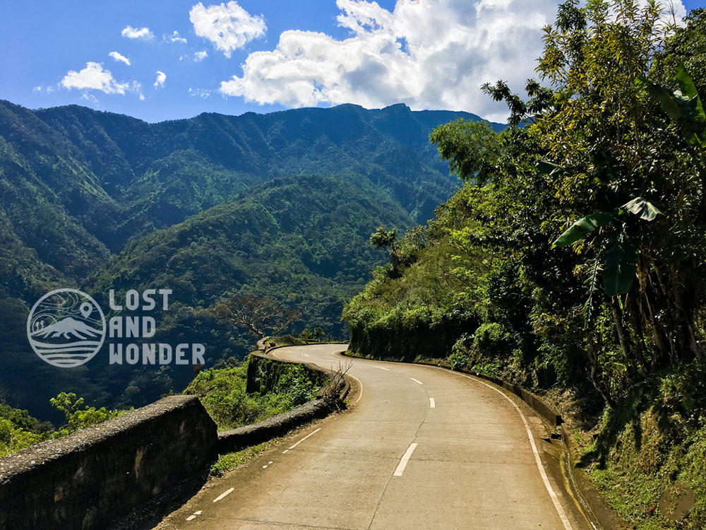 Dangerous roads of Kalinga, Philippines