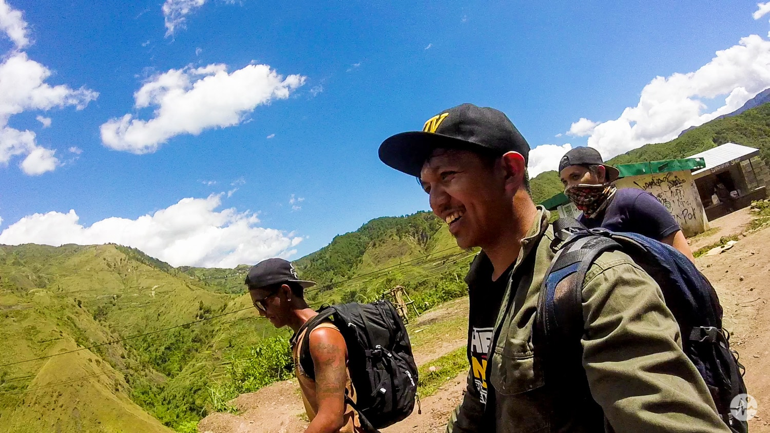 Hiking from turning point going to Buscalan Village