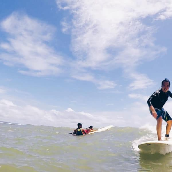One day tour Surfing Real Quezon