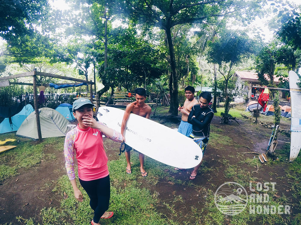 Surfing Lessons in Real, Quezon - the PaRK, Pacific Recreation Kamp