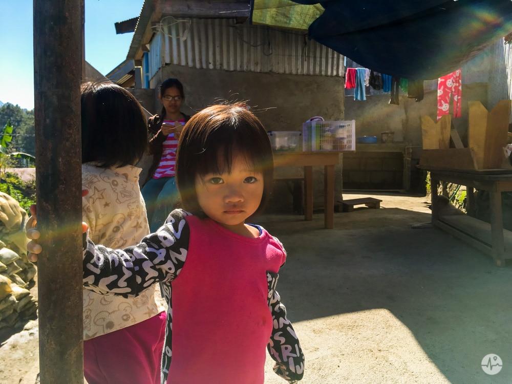 Picture of a local in Sagada