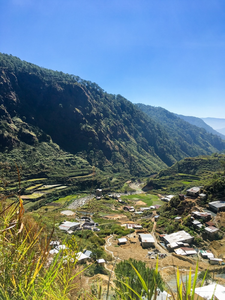 Picture of Mining town of Fidelisan, Sagada