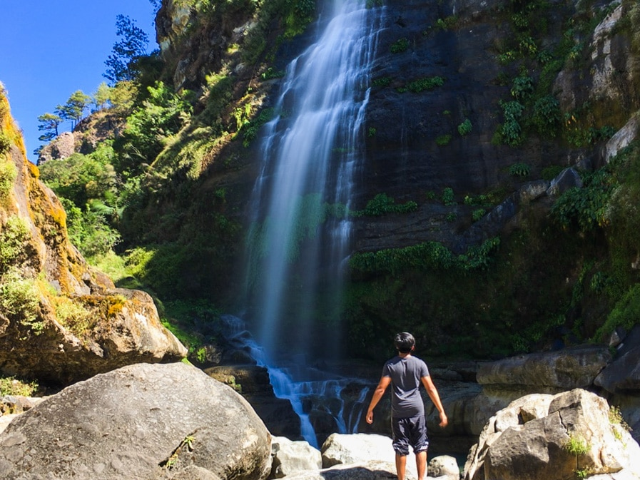 Picture of Bomod-ok Falls in Sagada