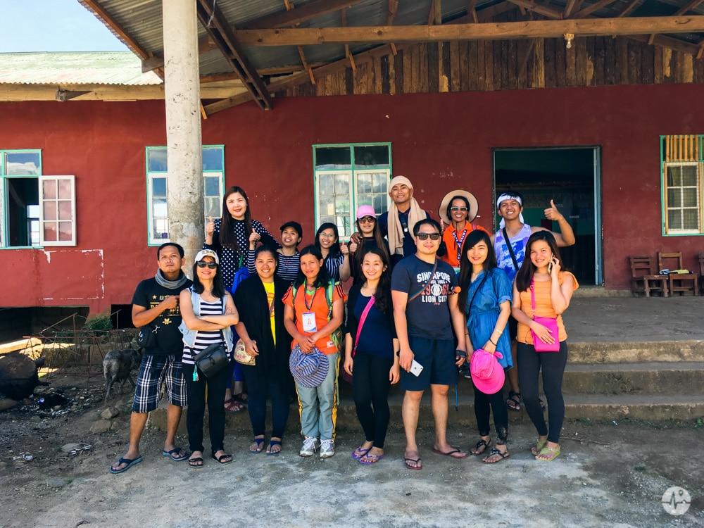 Photo of travelers in Sagada