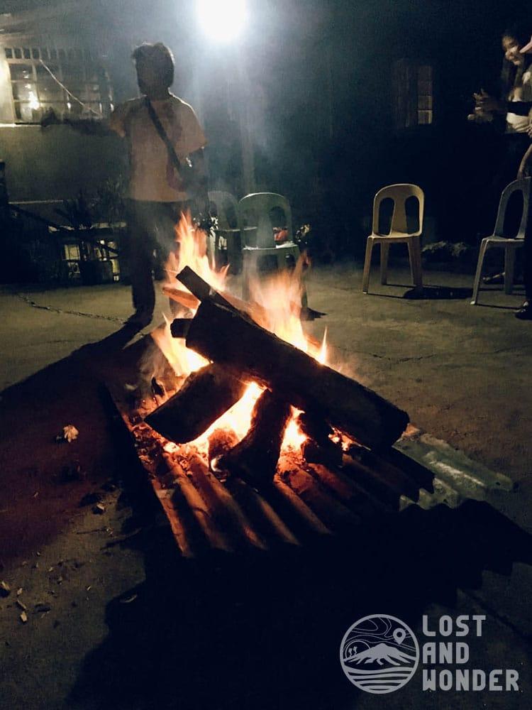 Photo of Bonfire activity in Sagada