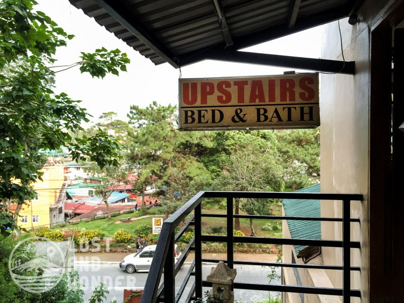 Photo of Upstairs Bed and Bath in Baguio CIty Philippines