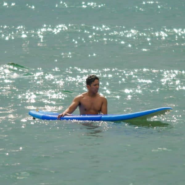 Photo of surfing in San Juan La Union Philippines