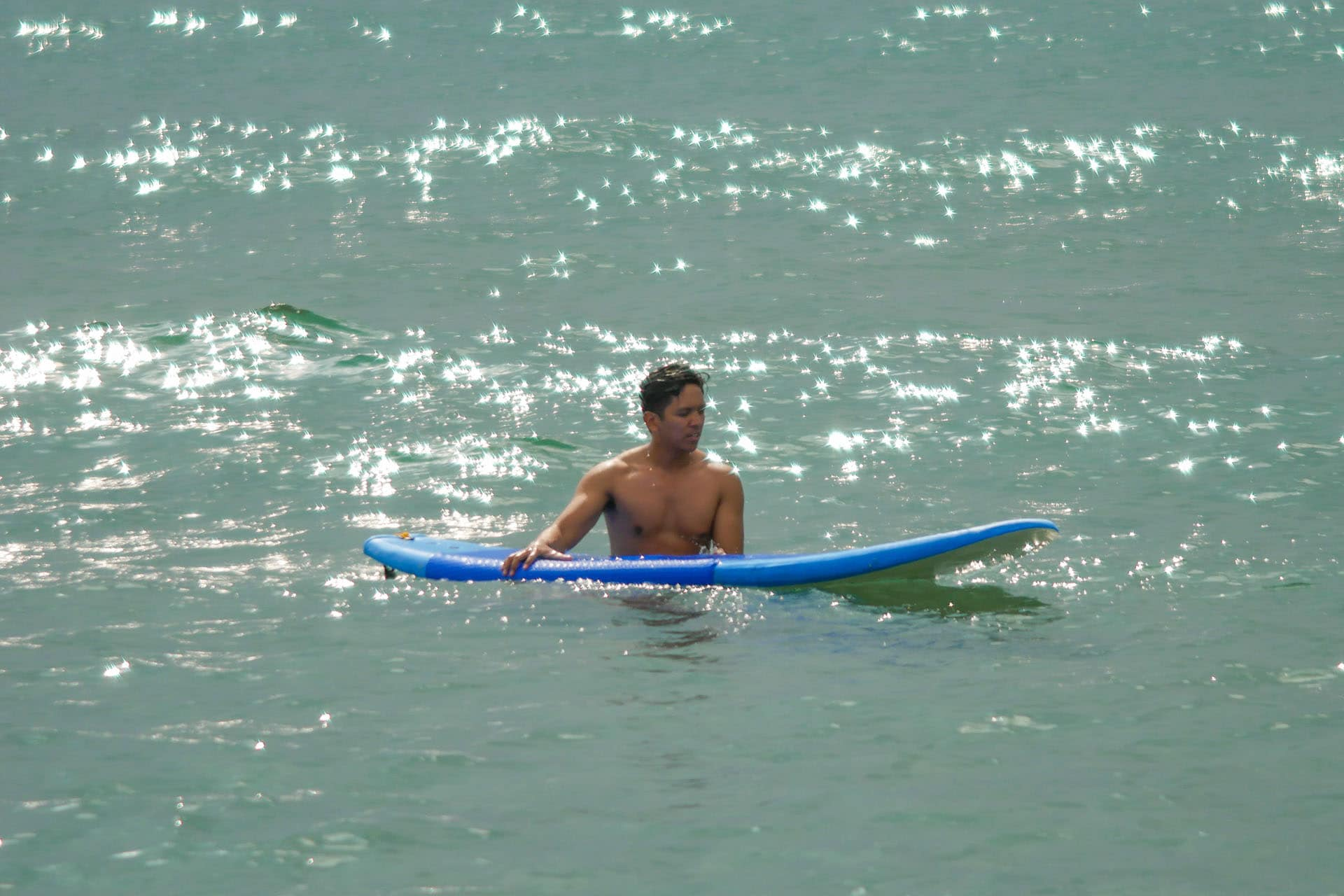 Photo of surfing in San Juan La Union Philippines