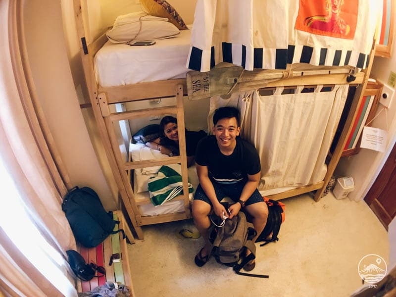 Photo inside dorm room of Flotsam and Jetsam Hostel
