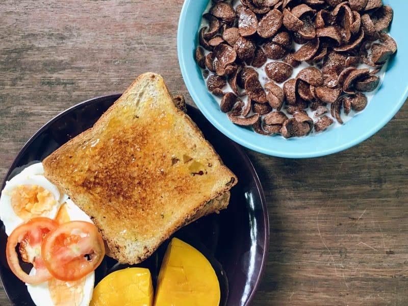 Photo of breakfast in Flotsam Jetsam Hostel