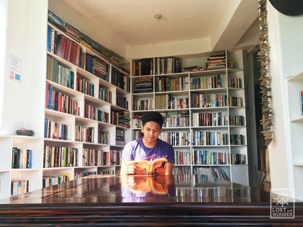 Photo: Arca's Yard library in Baguio City