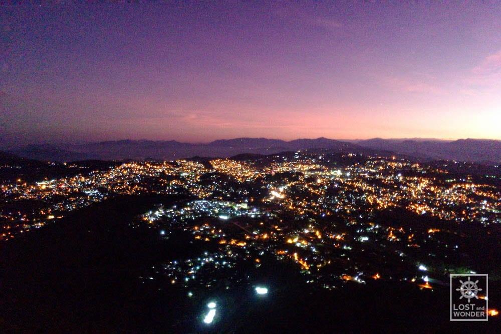 Photo of Baguio City Skyline