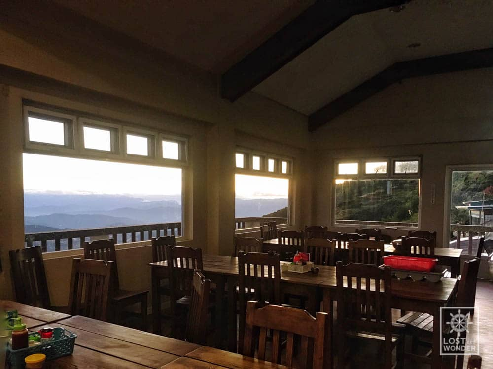 Photo: inside cafe in the sky baguio city