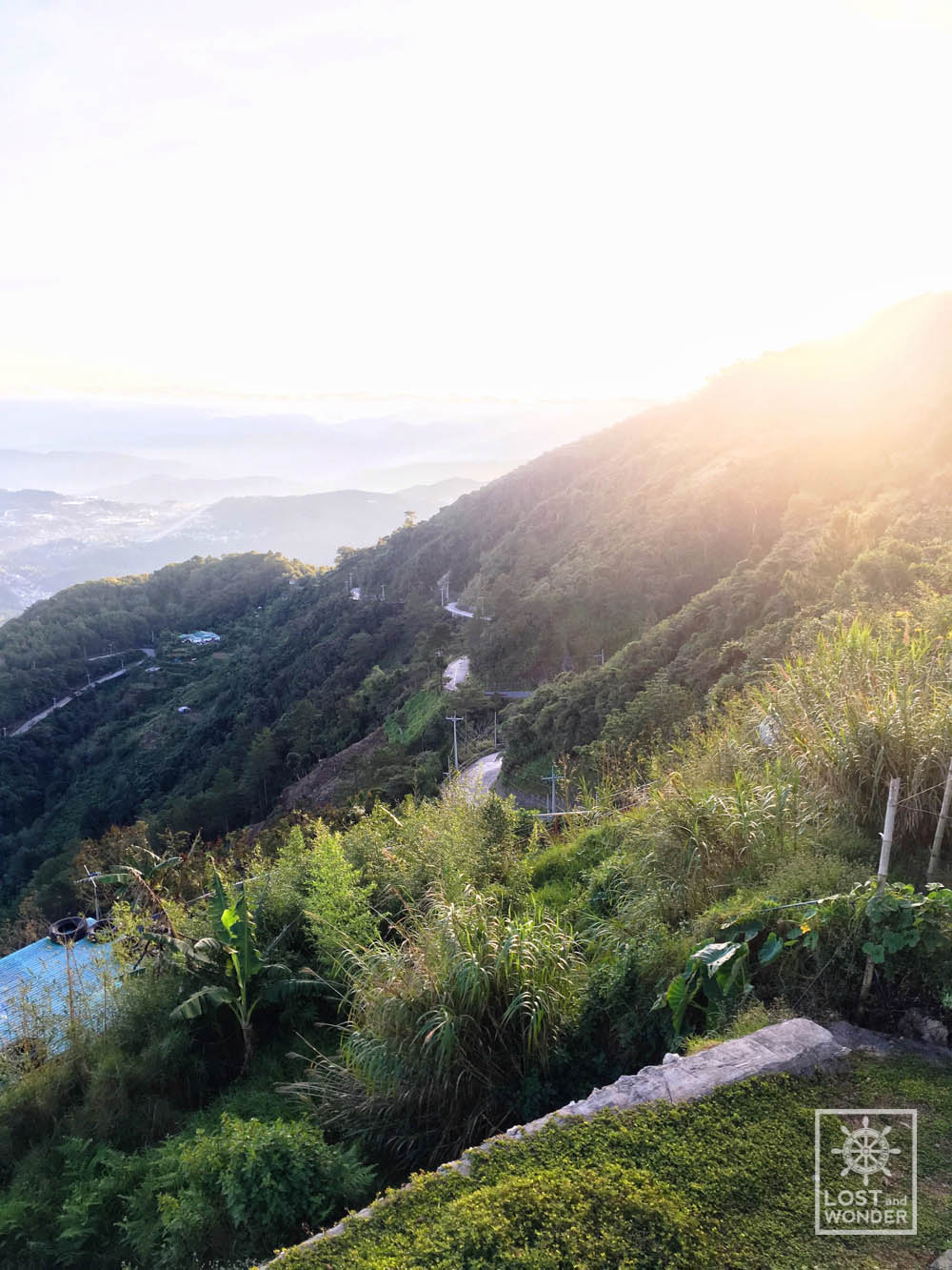 Photo of Mt. Sto. Tomas Cabuyo road in Baguio City