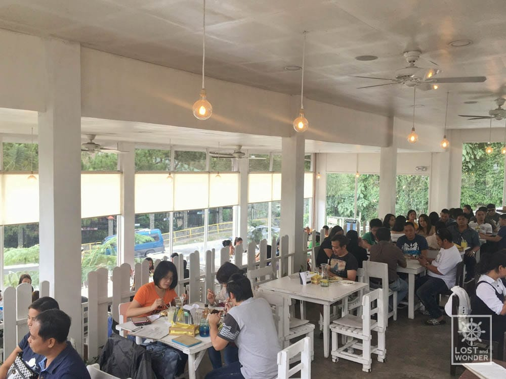 Photo inside the new canto bogchi joint in Baguio City