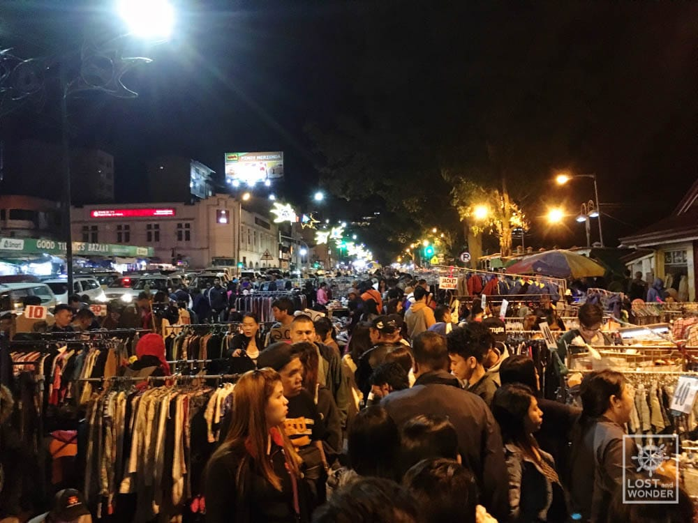 Photo of Baguio Night Market in Harrison Road