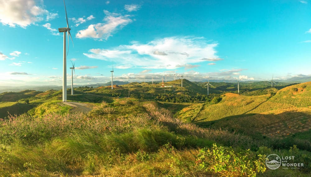 photo of pililla wind farm