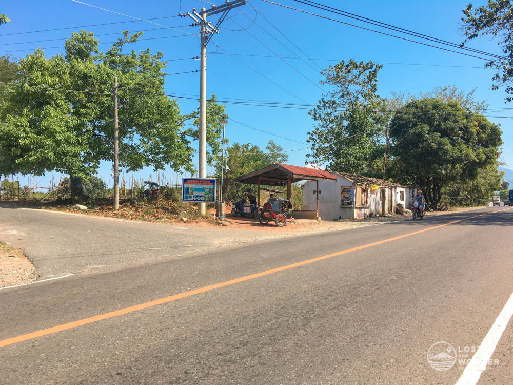 Photo of Radio Veritas Road in Barangay Pangolinan, Palauig, Zambales