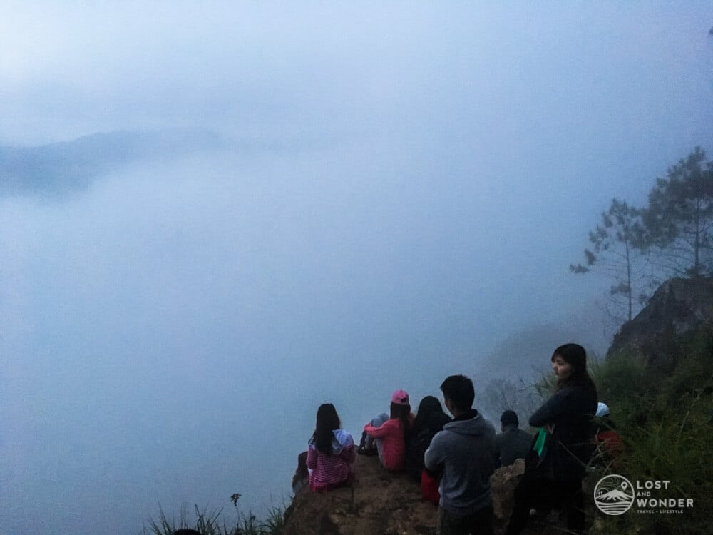Photo of Kiltepan View Foggy and Cloudy