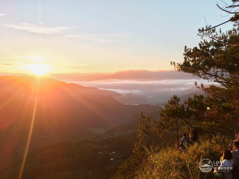 Photo of sunrise in Kiltepan View