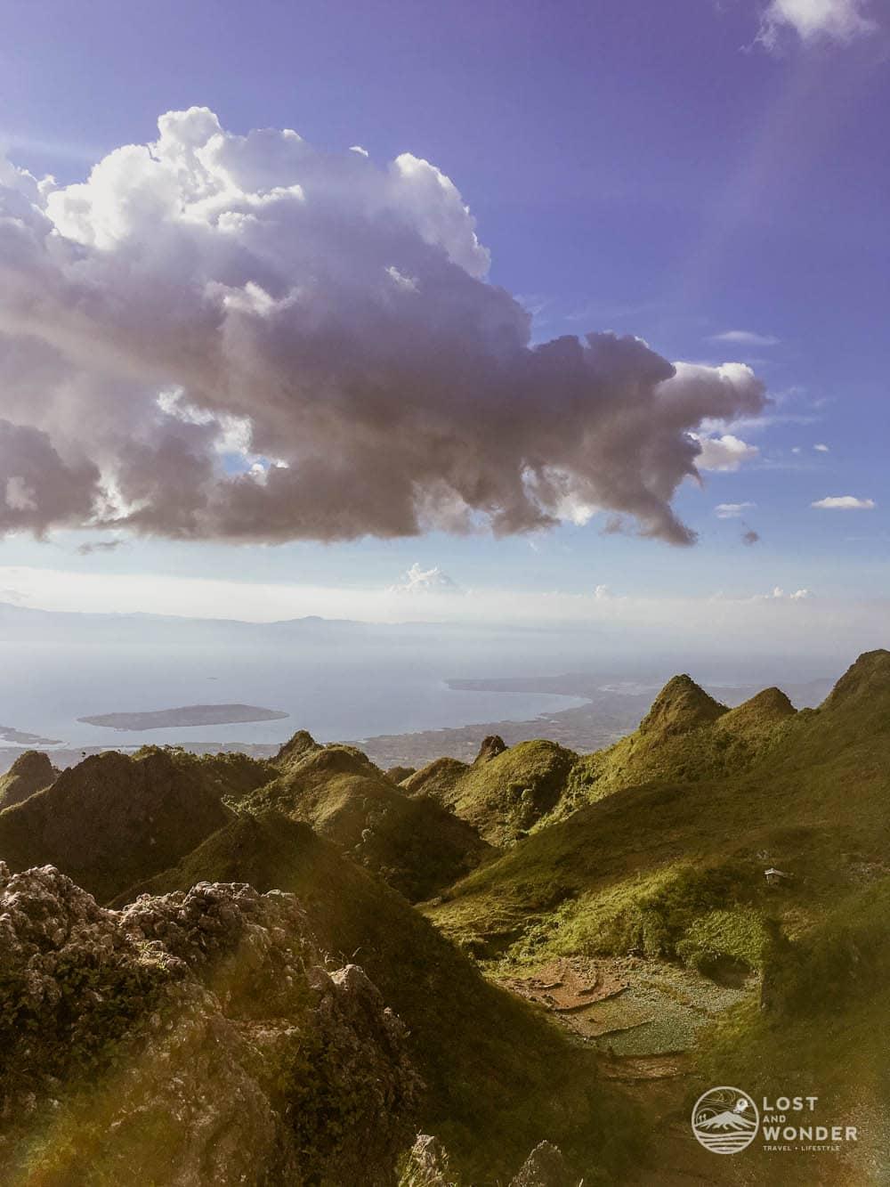 Photo at the summit of Osmena Peak in Cebu