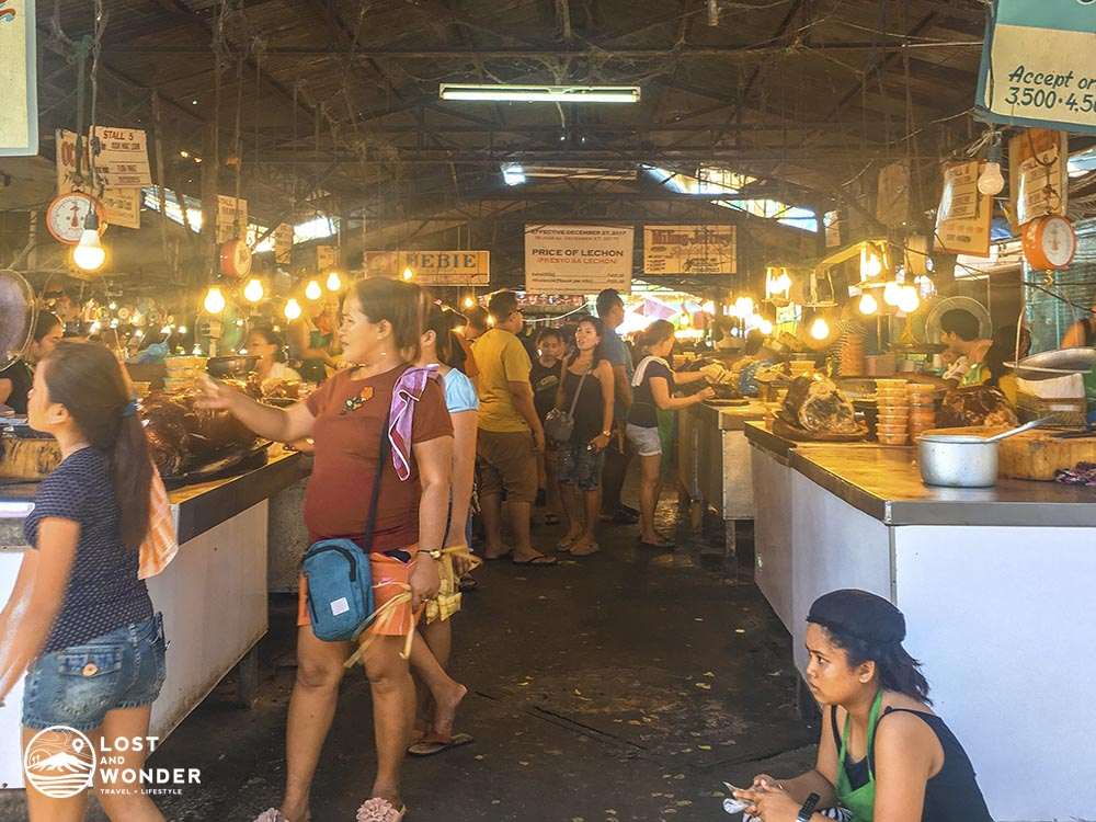 Photo of Carcar City Public Market Lechon Section