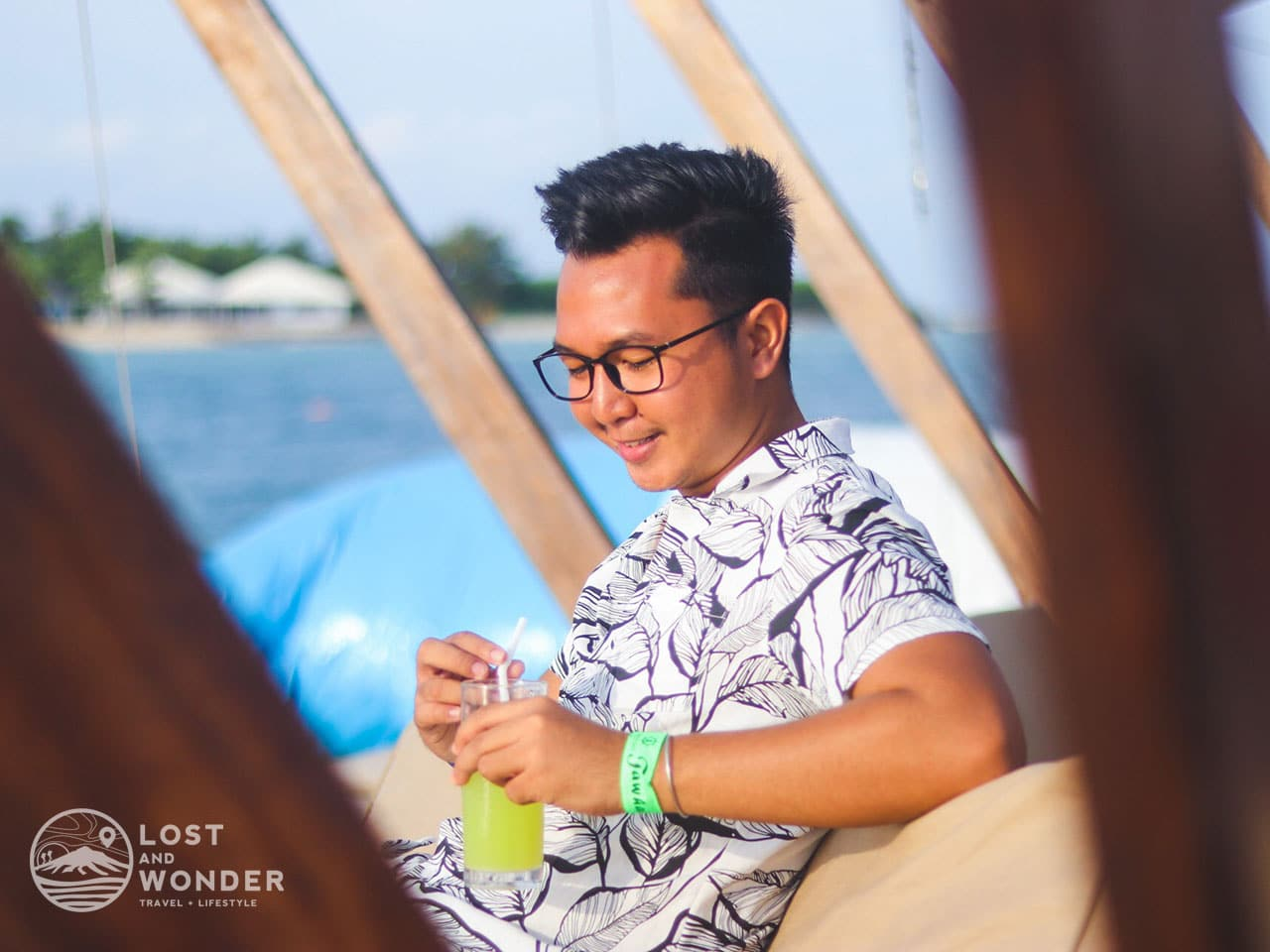 Photo of a traveler in Tawhai Floating Bar