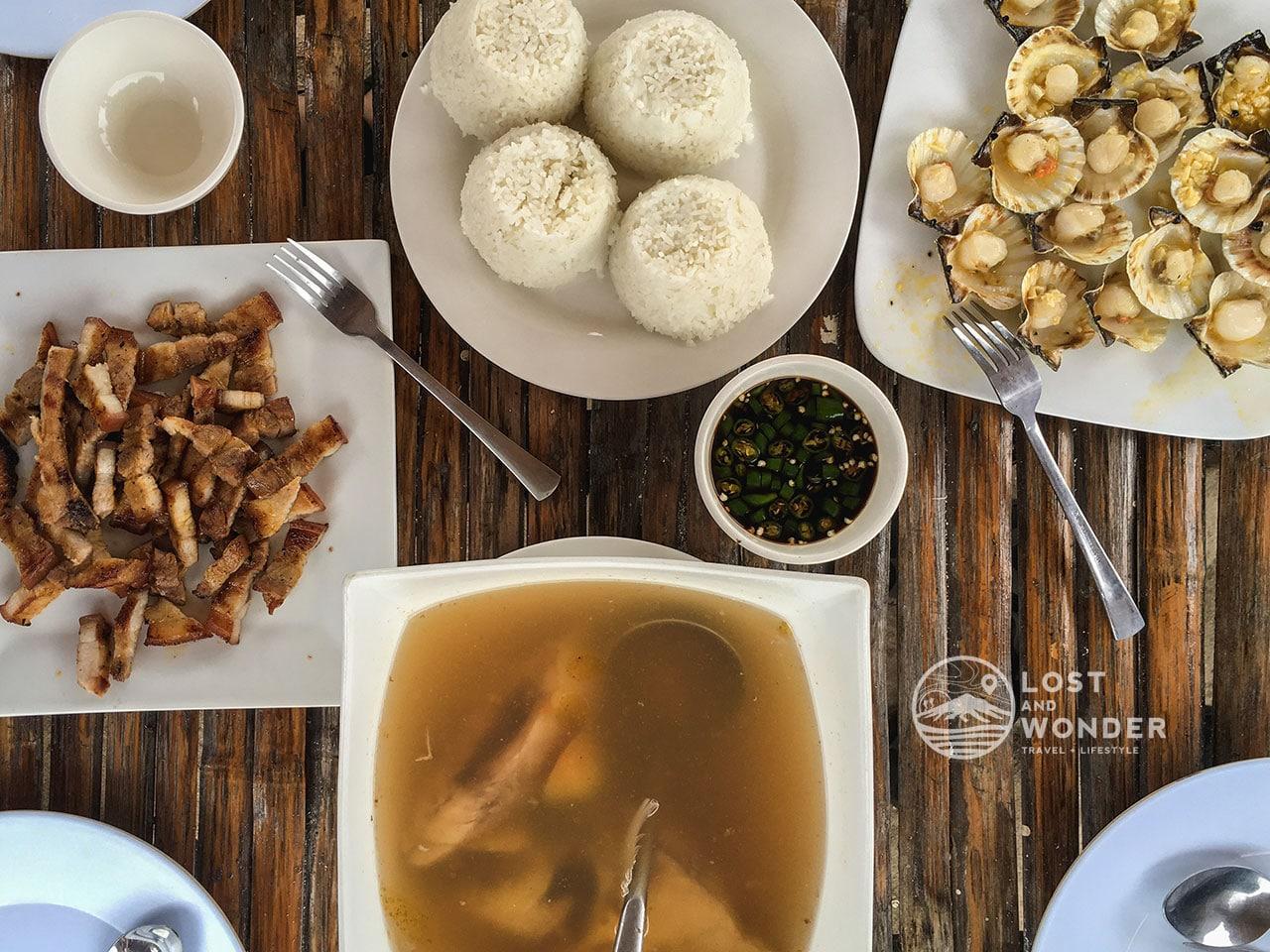Photo of Foods in Lakawon Island