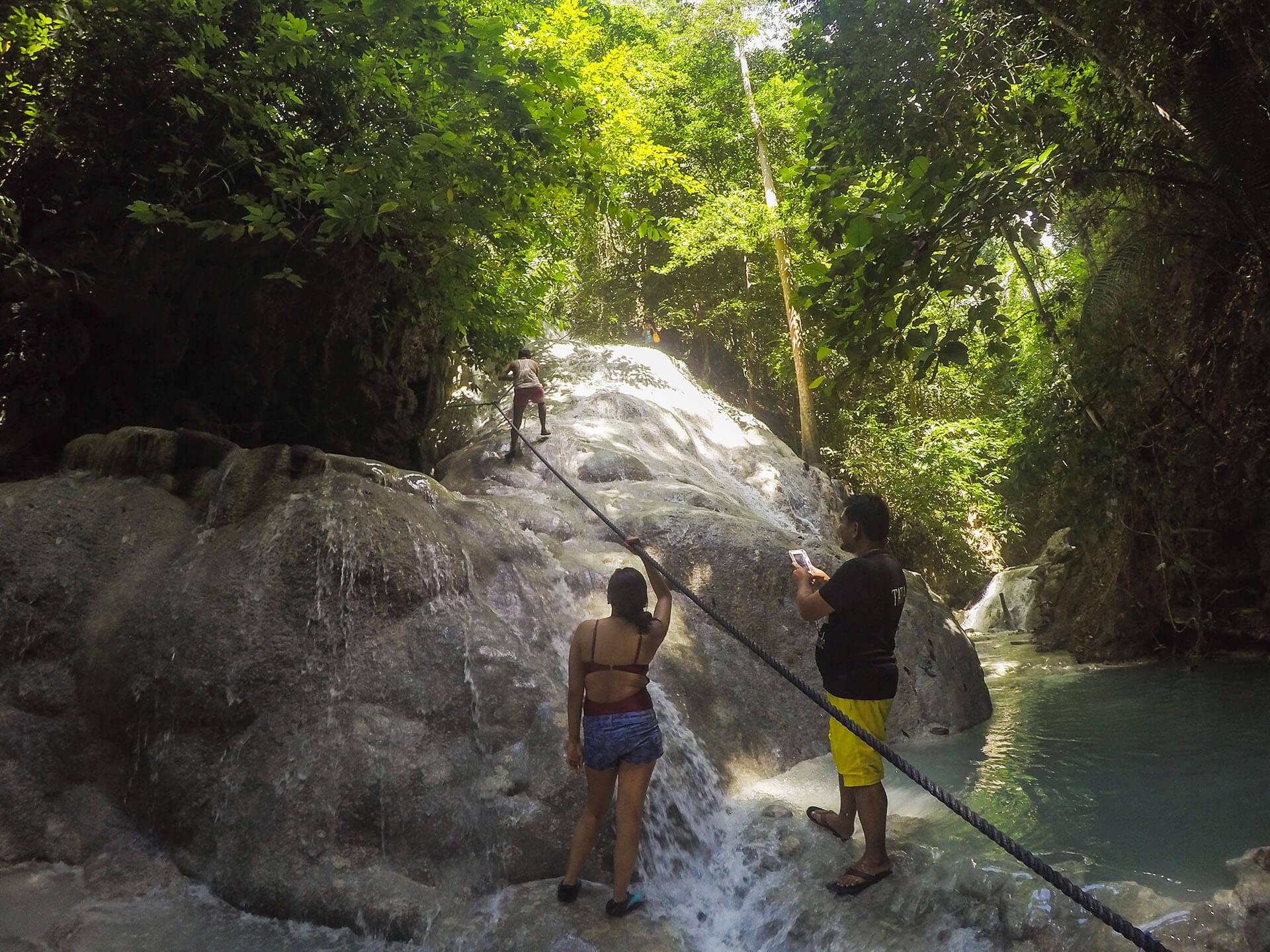 Photo of Aguinid Falls Level 2 in Samboan Cebu