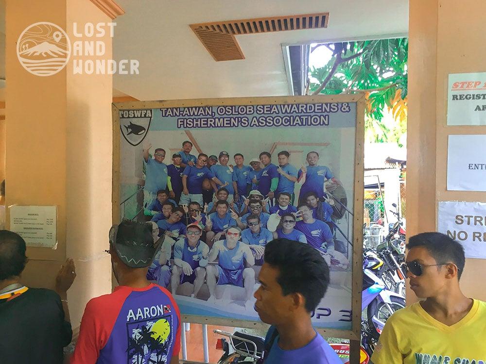 Photo of people in Oslob Cebu