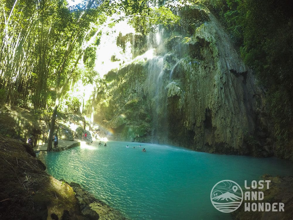 Photo of Tumalog Falls in Oslob Cebu
