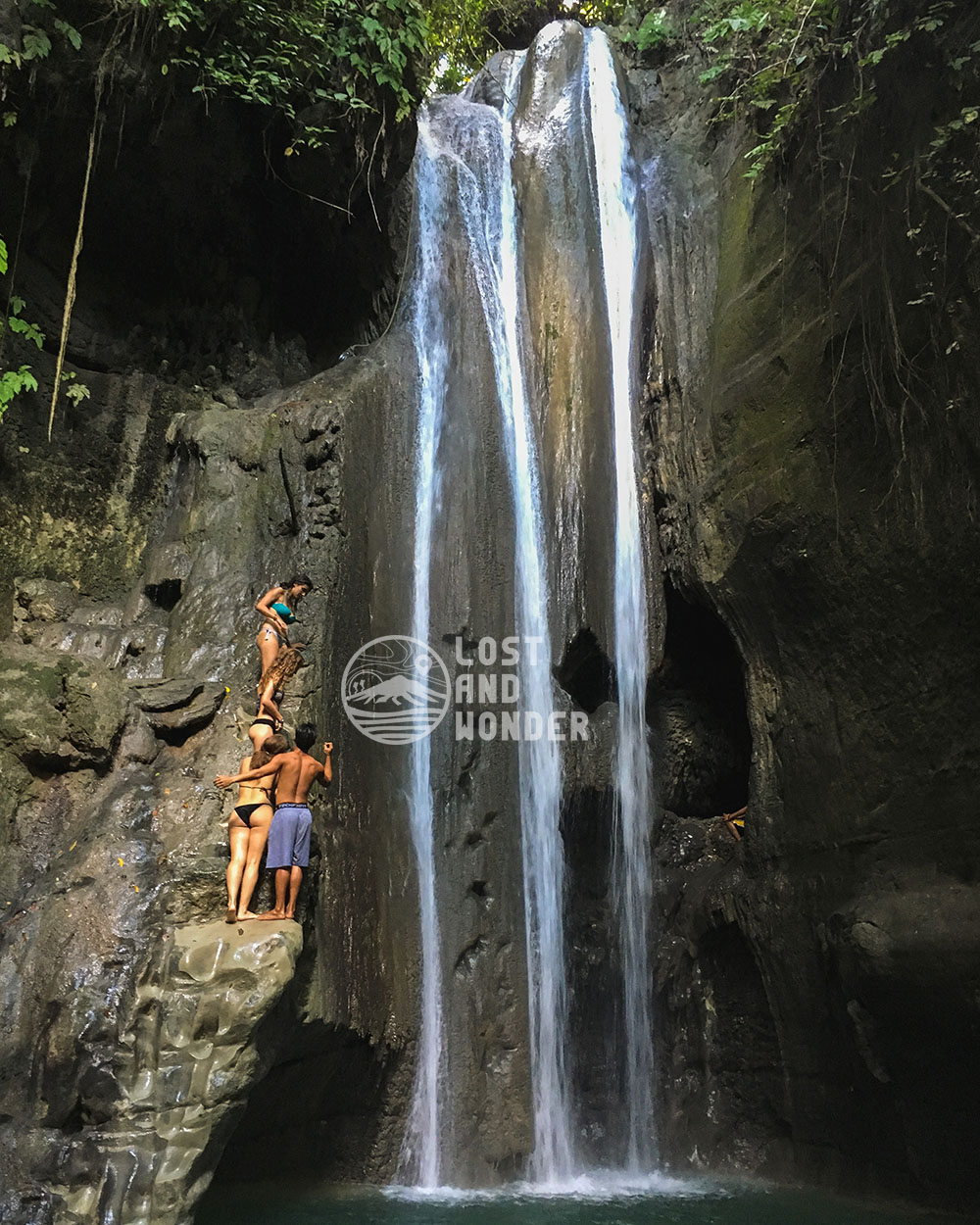 Photo of Binalayan Falls in Samboan Cebu