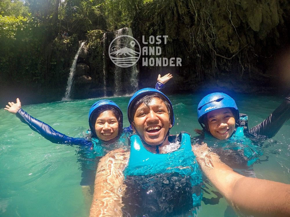 Photo at Kawasan Falls