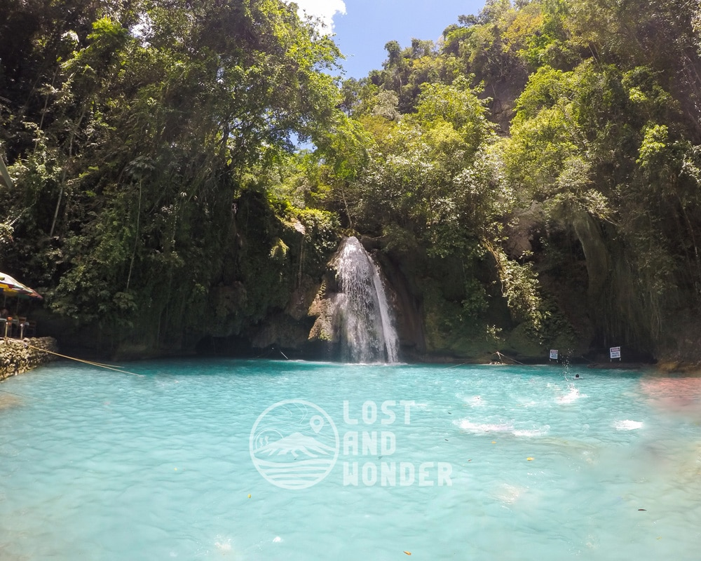 Photo of Kawasan Falls in Badian Cebu
